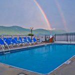 Double Rainbow over Lake George